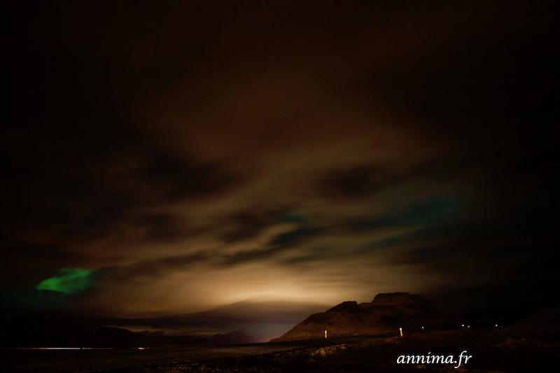 Voir des aurores boréales en Islande