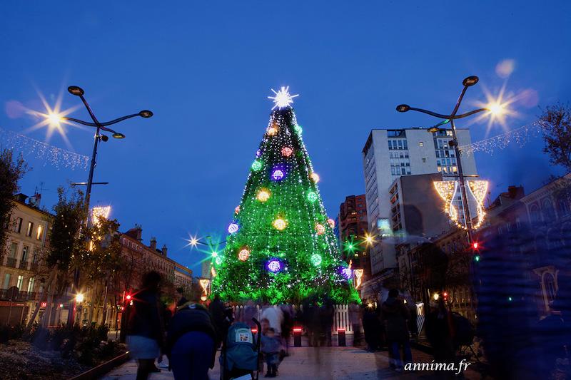 Illuminations de Noël 2019 à Toulouse