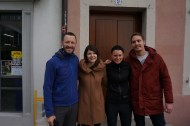 Our hosts in Aarau (Regi and Marc)