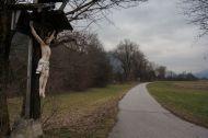 Because every good bike path needs a crucified Jesus