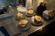 Emil's champion breakfast - energy winner!!