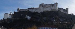Hohensalzburg Fortress above Salzburg