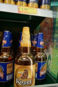 1.5L beer for €1.19 (that's 1970's prices)