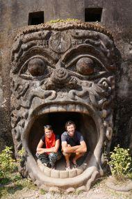 24.12.13 Buddha Park, Vientiane, Laos