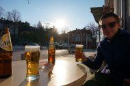 Beer o'clock in Belogradchik