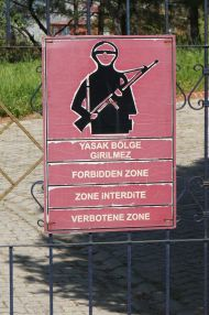 Military zone (interesting costume)
