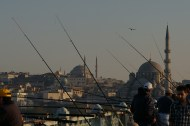 Fisherman at the Bosphorus