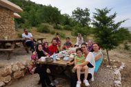 Turkish travel group from Istanbul
