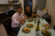 The perfect host - thanks Mark