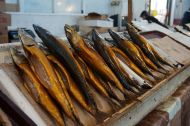 Smoked fish from the market - delicious and cheap
