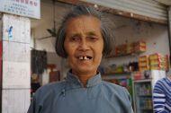 A friendly shop owner