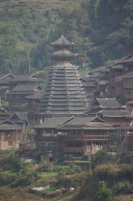 Drum tower - Dong village