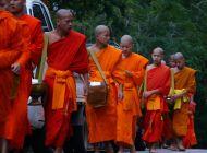 Alms ceremony, Luang Prabang