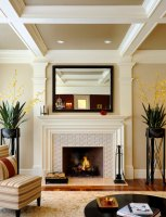 Contemporary Fireplace Mantels and Surrounds   Ann Inspired