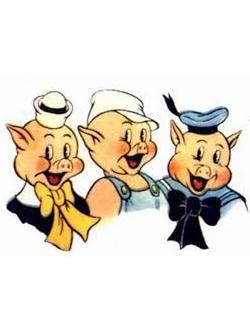 Dessin Animé Trois Petit Cochon : dessin, animé, trois, petit, cochon, Trois, Petits, Cochons, Environ