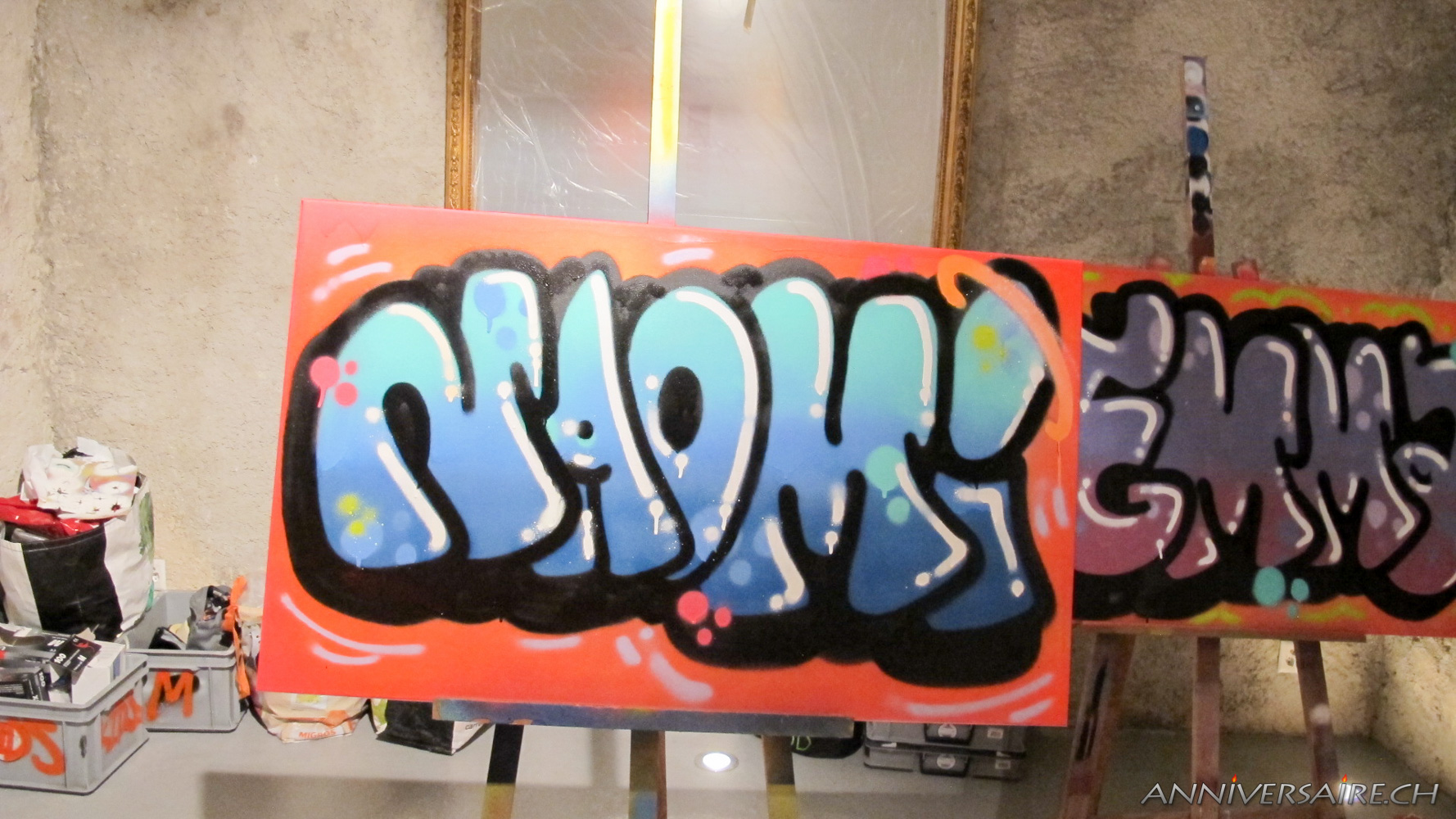 Bat Mitzvah Graffiti  Genve  Anniversaire en Suisse