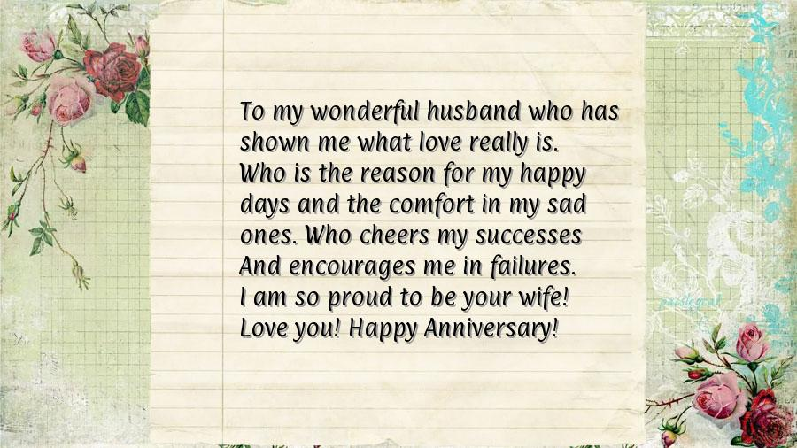 Anniversary Letter To My Husband.Anniversary Letters To Husband Resume Maker Create