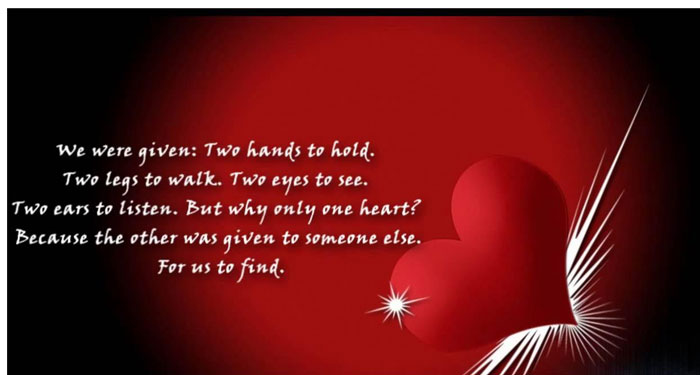 love quotes on Valentine's Day
