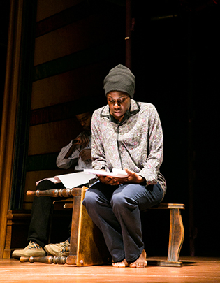 Anniwaa Buachie as Martha in Liberian Girl written by 2013 Alfred Fagon Award Winner - Diana Nneka Atuona