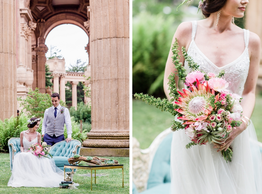 San Francisco Palace Of Fine Arts Wedding Inspiration