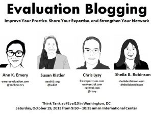 Evaluation Blogging: Improve Your Practice, Share Your Expertise, and Strengthen Your Network
