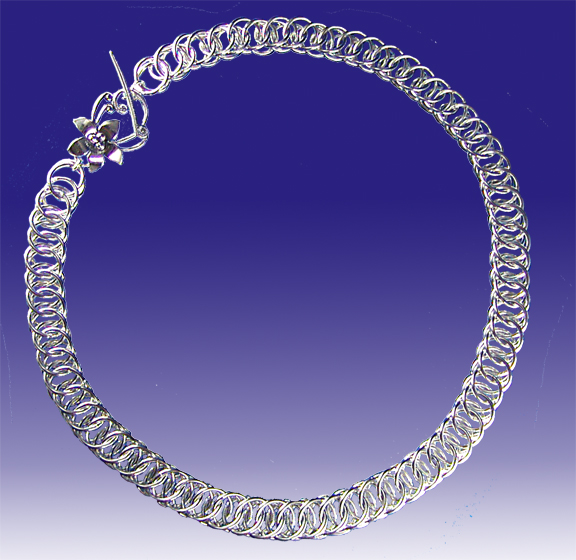Sterling Silver Columbus Chain necklace