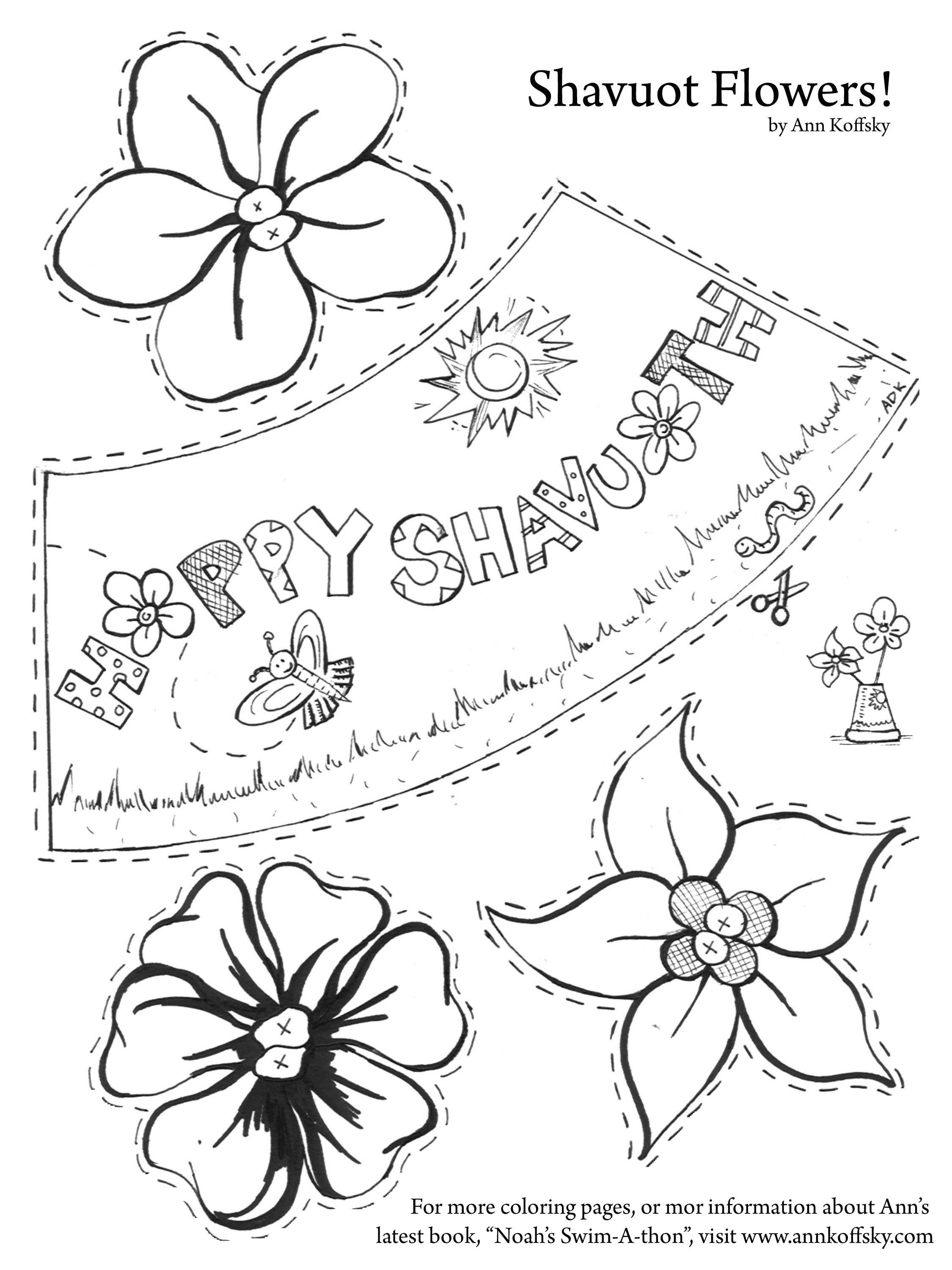 For Shavuot