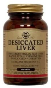 Desiccated Liver Tablets