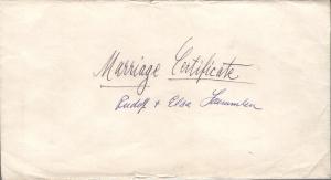 Laemmlen, Rudolf-Elsa Marriage Certificate 1 001