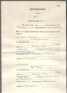 Laemmlen, Rudolf-Elsa Marriage Certificate 1 002