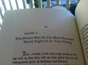 Neglect Housework to Write