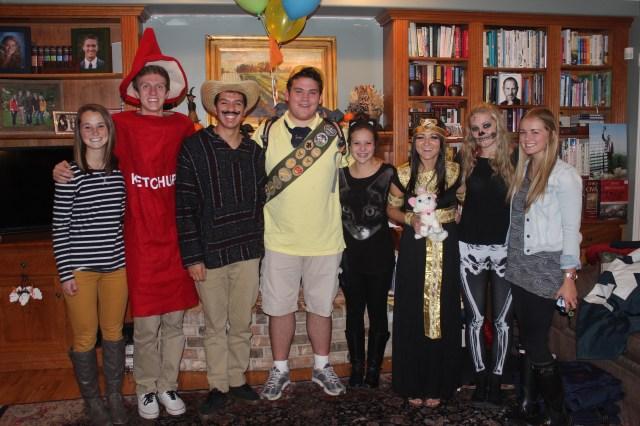 Halloween 2013 Adam & Friends