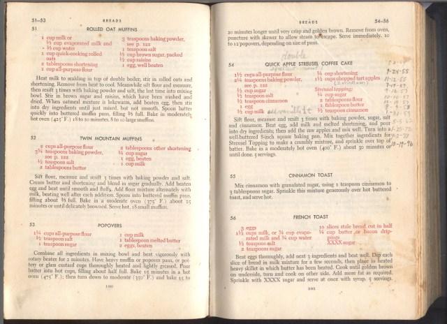 Cookbook, Grace's (2)