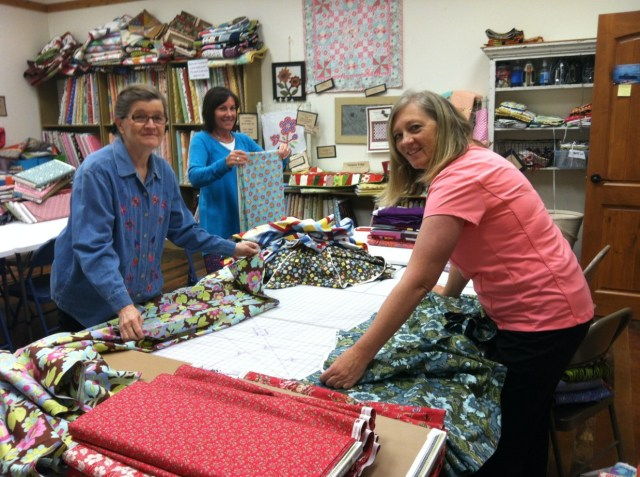 Days for Girls, AQ Fabric Donation 1