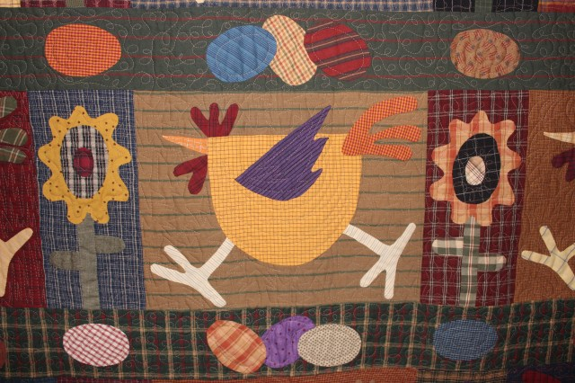 Quilt Chicken Run (3)