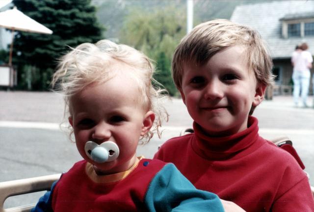 1995, June, kids with Lassens