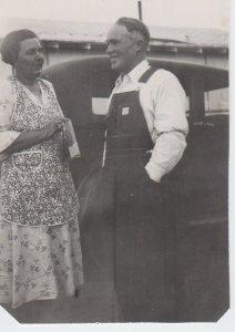 Grandma and Grandpa Barker