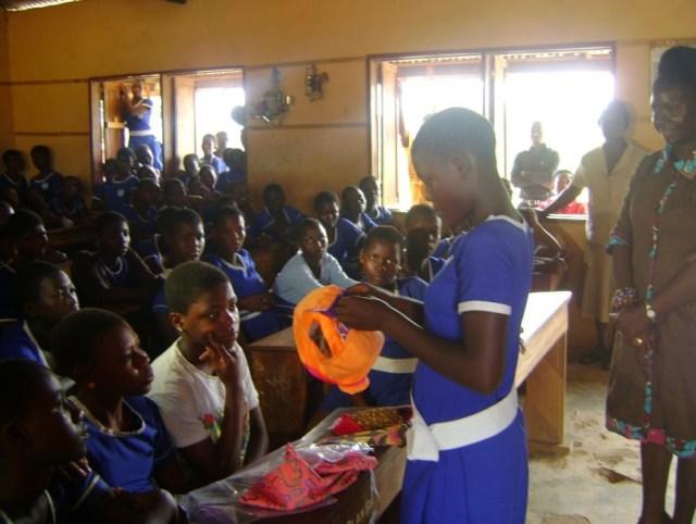 2014-07 Ghana Kits, Classroom