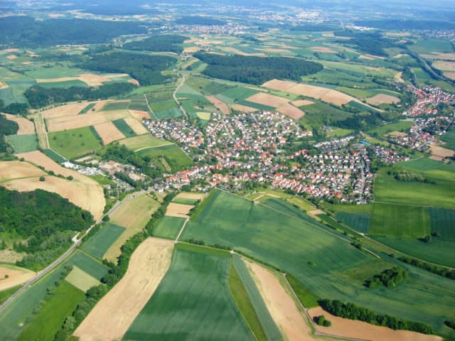 Germany Arial View