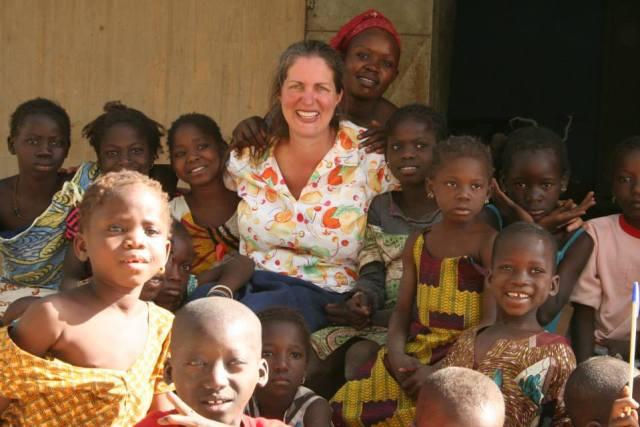 Ann Lewis in Mali