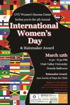 2015-3-12 International Women's Day UVU