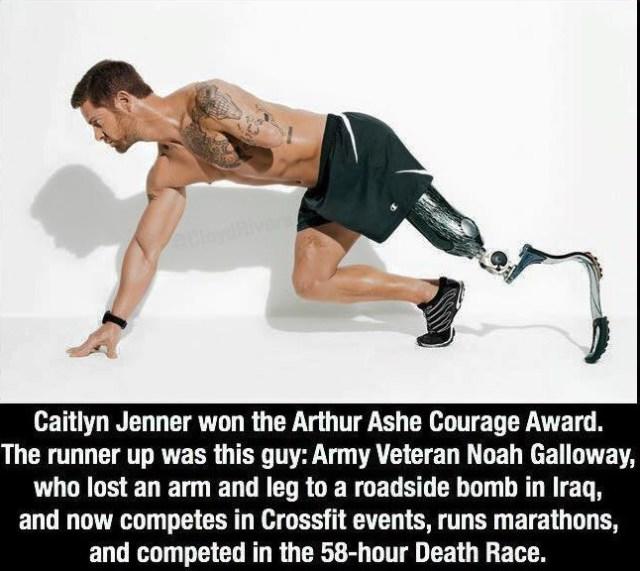 Arthur Ashe Courage Award runner up