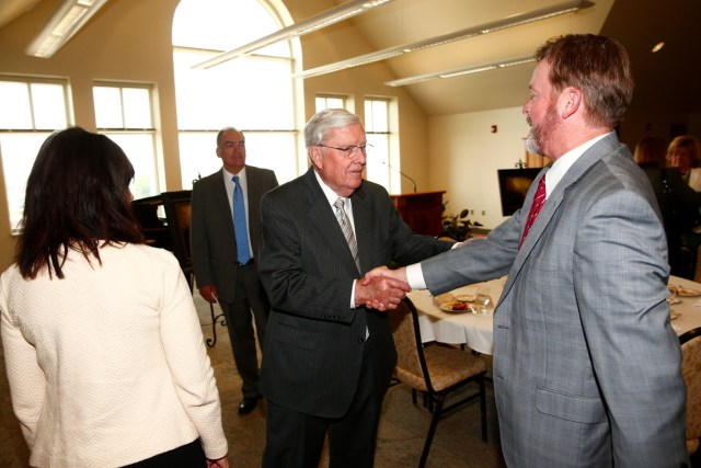 """1508-64 341 1508-64 Greg Olsen Painting Unveiling of Greg Olsen's new painting """"Treasures of Knowledge"""" that will be displayed in the family room of the Gordon B. Hinckley Visitors and Alumni Center. The painting was commissioned by Leo and Annette Beus. August 19, 2015 Photo by Jaren Wilkey/BYU © BYU PHOTO 2015 All Rights Reserved photo@byu.edu  (801)422-7322"""