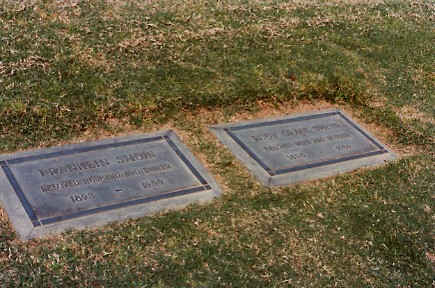 Smuin, Frank & Ruby headstones Forest Lawn