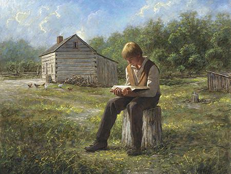 Joseph Smith reading by James McNaughton