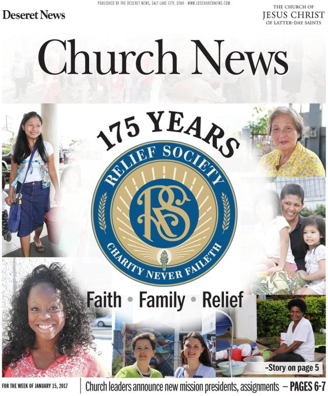 Relief Society 175 years