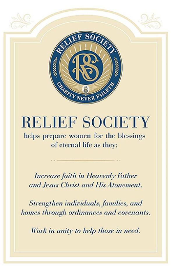 Relief Society purpose