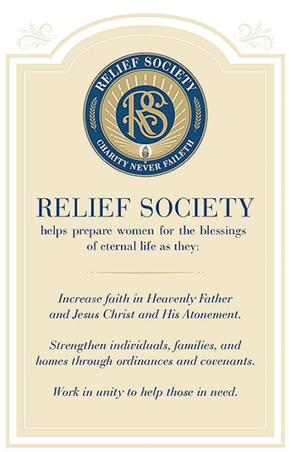 Relief Society purpose