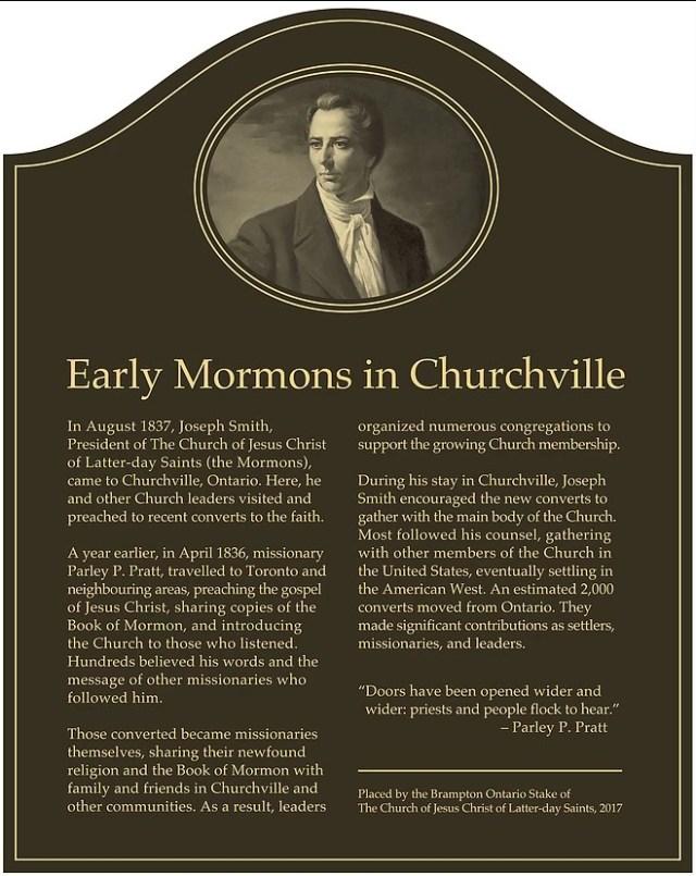 2017-7-9 Churchville Historical Marker