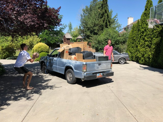 2018-7-6 Old TVs to the dump (7)